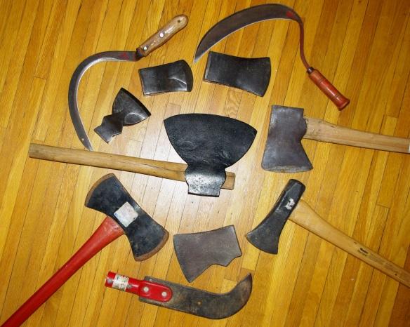 axes andscythes