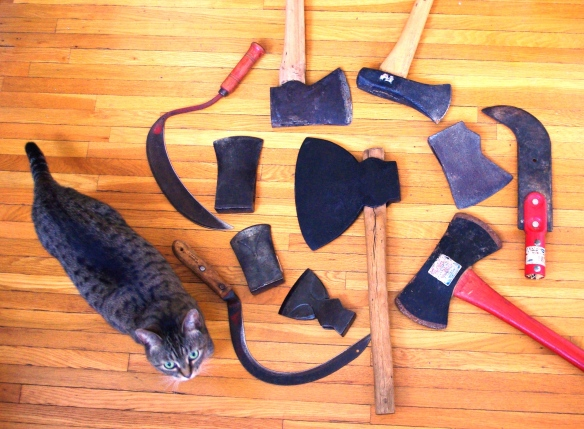 cat and axes